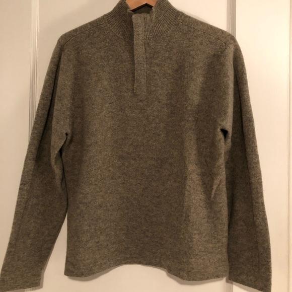 GAP Other - Men's GAP Lambs Wool 1/2 Zip Sweater